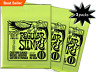 3 SETS ERNIE BALL 2221 REGULAR SLINKY ELECTRIC GUITAR STRINGS 10-46