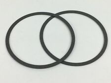 """2 HOLLEY QFT AED DEMON  CARBURETOR 4150 4160 AIR CLEANER GASKET .046"""" THICKNESS"""