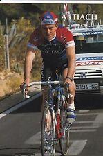 CYCLISME carte cycliste ORLANDO RODRIGUEZ équipe ARTIACH 1993