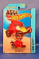 Hot Wheels 2014 Angry Birds Red HW City Tooned 1 New in Blister Pack