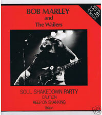 """MAXI 45 RPM 12"""" BOB MARLEY & THE WAILERS SOUL SHAKEDOWN PARTY"""