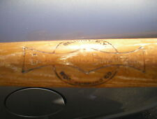 Blackman & Burchfield Belmont Wood baseball bat Vintage 35""
