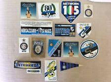 15 ADESIVI CALCIO INTER INTERNAZIONALE F.C. VARI  SQUADRA E CLUB ULTRAS ULTRA'