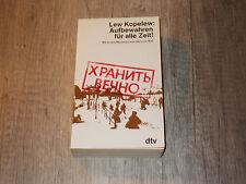 dtv Nr. 1440 - Aufbewahren für alle Zeit ! - Lew Kopelew - 1980
