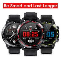 Microwear L12 Smart Watch Bracelet IP68 Waterproof ECG+PPG Heart Rate Fitness