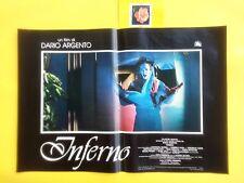 F454 INFERNO - DARIO ARGENTO , FOTOBUSTA 1° EDIZ. 1980. RARA!