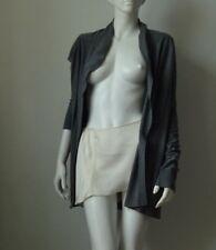 Joie Nylon/Wool Blend Women's Open Front Cardigan Sweater Gray Used Size M
