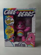 """NEW 2020 Care Bears 5"""" Interactive Figure Cheer Bear Your Touch Unlocks 50+"""
