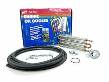 "NEW Valley Engine Oil Cooler Kit 5543 Chevy Dodge VW Saab Fiat 10""x5"" 1975-1994"