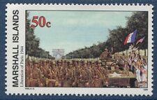 Marshall Islands 1994 World War 2 WW II Scott 494 Liberation of Paris W80 NH