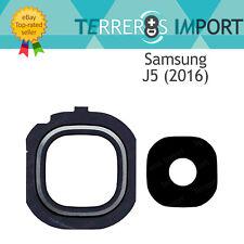 Lente negro embellecedor Camara trasera para Samsung Galaxy J5 (2016) J510f