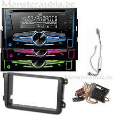 JVC Autoradio 2-DIN USB MP3 Radio für VW Caddy Golf 5 Plus 6 V VI Sharan Tiguan