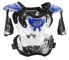 Fox Racing R3 Roost Deflector Chest Protector Motocross Blue SIZE LARGE
