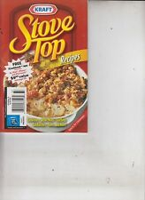Kraft Stove Top Recipes Casseroles/Skillet Meals/Stuffing/Sandwiches/Sides 2010