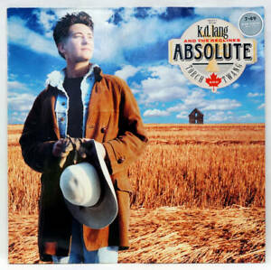 K D LANG Absolute Torch And Twang Vinyl LP Sire 925 877-1 Germany 1989 VG/EX