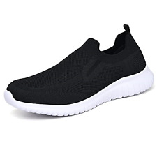 New listing TIOSEBON Mens Slip on Trainers Casual Tennis Sneakers Lightweight Running Shoes