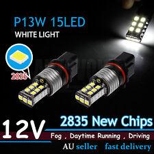 Error Free Canbus P13W 15 SMD LED Super White Car Driving DRL Fog Light Bulb 12V
