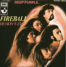 ★☆★ CD Single DEEP PURPLE Fireball 2-track CARD SLEEVE   ★☆★ Demon's Eye