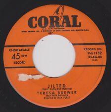 TERESA BREWER {50s Pop Vocal} Jilted / Le Grand Tour De L'Amour ♫HEAR