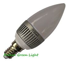 E14 SES CANDLE 12 SMD LED 240V 3.5W 180LM DIMMABLE WARM WHITE BULB ~40W