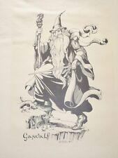 The Hobbit, Tolkien, Print Set, 1976 C. S. Millan
