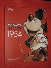 WALT DISNEY-TOPOLINO STORY 1954  N°6 - VOLUME A FUMETTI DI QUASI 200 PAGINE