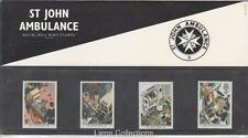 St John Ambulance GB 1987 presentación Pack 181 SG 1359 1362 conjunto de sello de menta