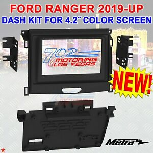 METRA 99-5857B DOUBLE DIN CAR STEREO DASH INSTALL KIT FOR 2019 - UP FORD RANGER