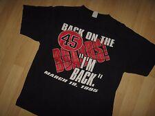 Michael Jordan 1995 Tee - Vintage Chicago Bulls Basketball #45 Boards T Shirt XL