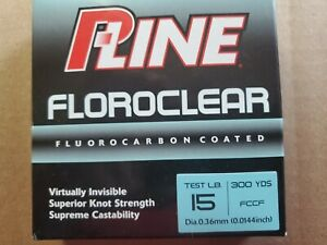 P-Line Floroclear Fishing Line Clear