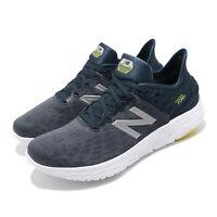 New Balance Fresh Foam BEACON D Grey Navy Mens Running Shoes MBECNFG2 D