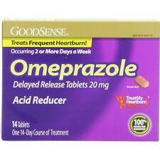 GoodSense Omeprazole Acid Reducer Delayed Release Tablets 20mg 14 each