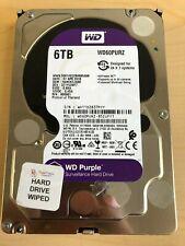 Western Digital 6TB PURPLE Surveillance Hard Drives SATA 6 Gbs 64MB WD60PURZ WD