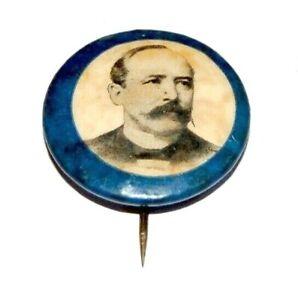 "1904 ALTON PARKER 7/8"" campaign pin pinback button political badge presidential"