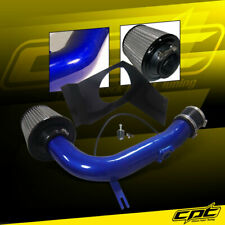 For 08-14 Impreza WRX/STI 2.5L 4cyl Blue Cold Air Intake + Red Filter Cover