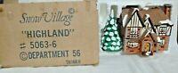 Dept 56 Snow Village Highland - 50636