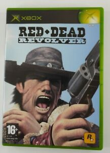 Red Dead Revolver, Original Xbox. Tested and Working, Manual & Insert Included.
