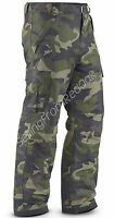 MENS INSULATED WATERPROOF SKI SNOW BOARD CARGO PANTS CAMO CAMOUFLAGE ALL SIZES!
