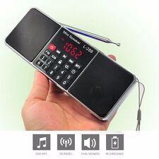 L-288 portátil altavoz de la música MP3 jugador w / FM Radio Micro SD TF USB