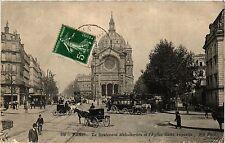 CPA Paris 8e, Paris - Le Boulevard Malesherbes (363013)