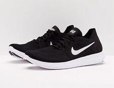 1feb103741d44 Nike RN Flyknit 2017 Run Black White Men Running Shoes SNEAKERS 880843-001  UK 7