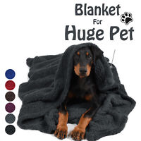 Pawsse Plush Sherpa Throw Blanket for Couch Sofa, Fluffy Microfiber Fleece Throw