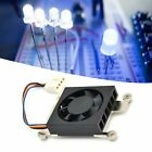 Cooling Fan Electric CPU Cooler Low Noise Set Kit with Paste for RaspberryPi