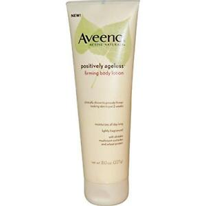 Aveeno Positively Ageless Firming Body Lotion 8 oz (8 Pack)