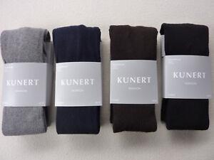Kunert Knitted Tights Rib 70% Cotton 36-50 Xs S M L XL XXL Tights