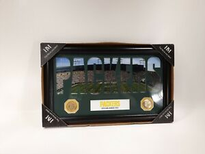 Green Bay Packers Limited Photo Gold Coin Highland Mint NFL Framed Picture