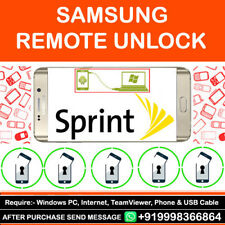 SAMSUNG GALAXY SPRINT S8 S8+ PLUS REMOTE FACTORY GSM SIM CARRIER UNLOCK SERVICE