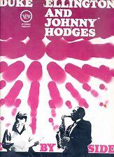DUKE ELLINGTON and JOHNNY HODGES side by side HOLLAND EX LP VERVE REC