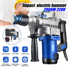 2000W Demolition Jack Hammer Impact Drill Electric Concrete Breaker Jackhammer
