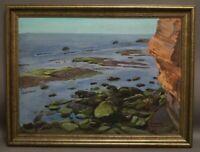 Fritz Laube (1914 - 93) - Helgoland - handsigniertes Ölgemälde